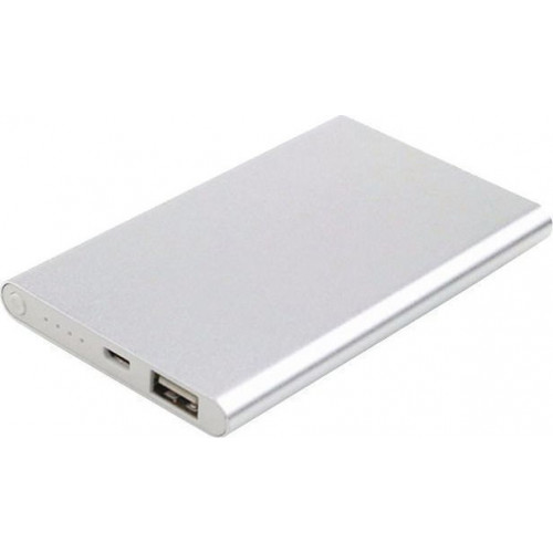 BORMANN - BBC5001 POWER BANK 5V, 5000mAh ΑΣΗΜΙ (0250868)